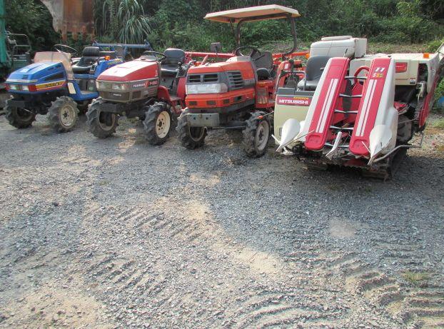 農機具 たくさん
