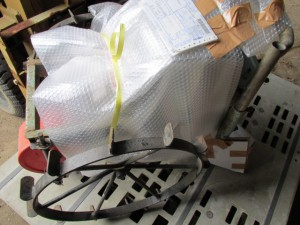 農機具 梱包