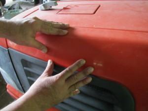 トラクター 検品