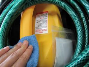 高圧洗浄機 掃除
