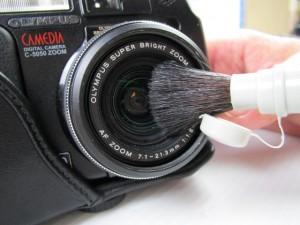 レンズ 清掃