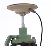 GPS測量機アンテナ部分