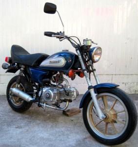 カワサキAV50