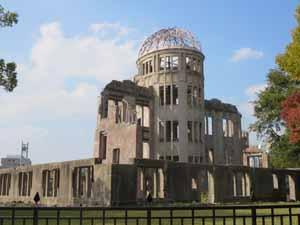 原爆ドームに行って感動した広島での買取を強化
