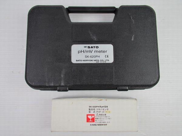 佐藤計器 ハンディ型 pH計