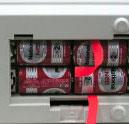 電池装填部