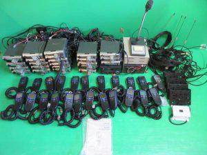 無線機 大量1
