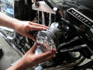 バイク 検品