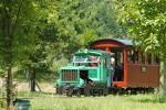 王滝村 スクール列車