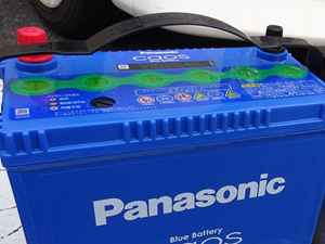 バッテリー プラスチックカバー