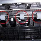 Roller printer