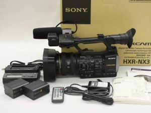 業務用ビデオカメラ 付属品一式