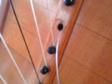 ハープ 弦張替