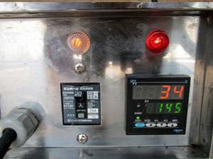 ベビーカステラ焼き機 温度設定