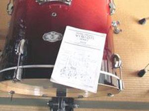 ドラムセット 取扱説明書