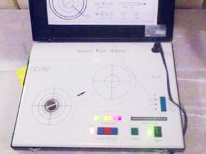 波動転写機 操作ボタン