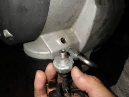 油圧工具 取付け部の不良
