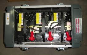 バッテリー溶接機 電源の不良