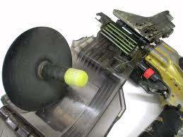 高圧ロール釘打機 機体の状態について