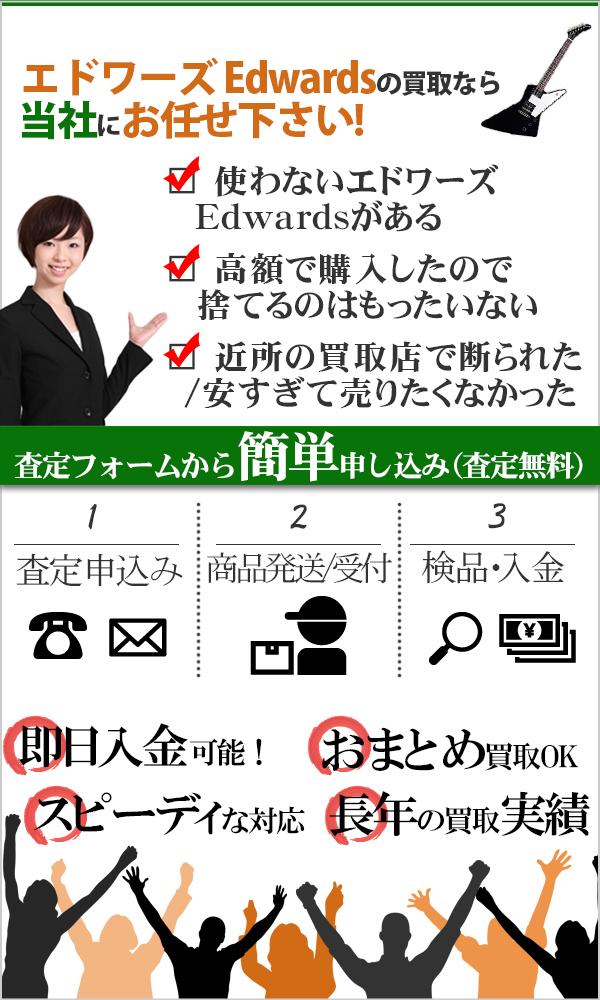 エドワーズ Edwards 高価買取