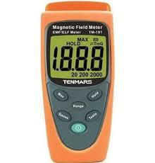 電磁波測定器 液晶画面