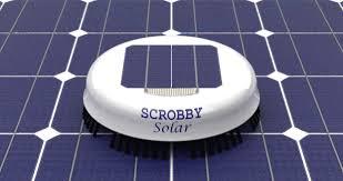 太陽光パネル清掃ロボット