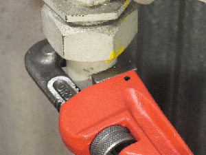 水道工具 レンチ調整可能