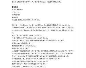 ペッパー査定 参考資料