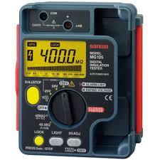 電気計器 液晶画面