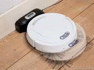 お掃除ロボット 充電