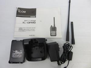 デジタル簡易無線 付属品一式