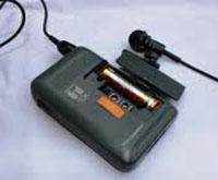ピンマイク 電池