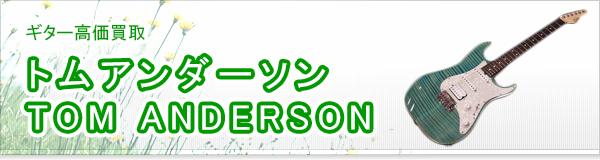 トムアンダーソン TOM ANDERSON買取
