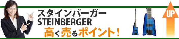 スタインバーガー STEINBERGER 高価買取のポイント