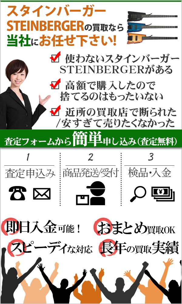 スタインバーガー(STEINBERGER) 高価買取