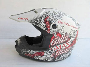 オフロード ヘルメット