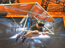 VRハンググライダー バランス