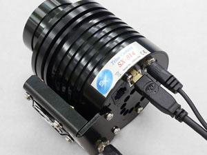 CCDカメラ アダプタ 接触