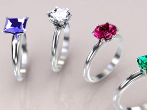 婚約指輪 宝石