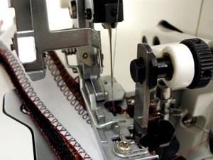 ロックミシン 縫い目不具合