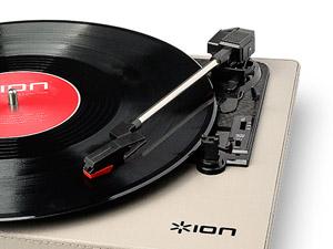 レコードプレイヤー 動作