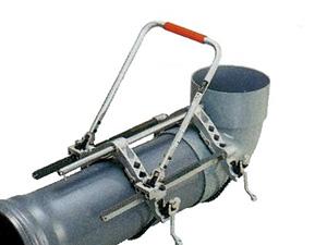 パイプ挿入機 ラチェットハンドル