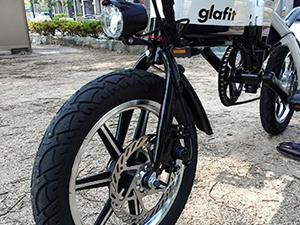 グラフィット glafit GFR-01 空気圧