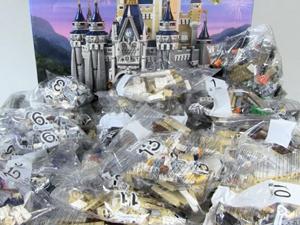 LEGO ディズニーシンデレラ城 箱説明書有