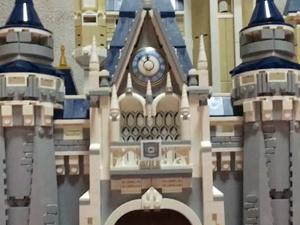 LEGO ディズニーシンデレラ城 ブロックが揃っている