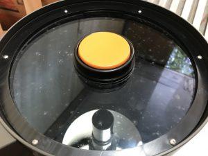 望遠鏡レンズ カビ