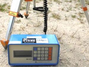 地盤支持力測定器の使い方