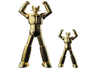 純金製マジンガーZ サイズ