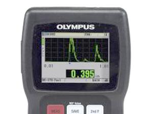 オリンパス 超音波厚さ計 計測正常