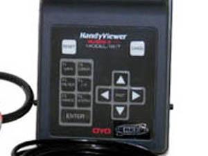 弾性波速度測定器 ボタン操作